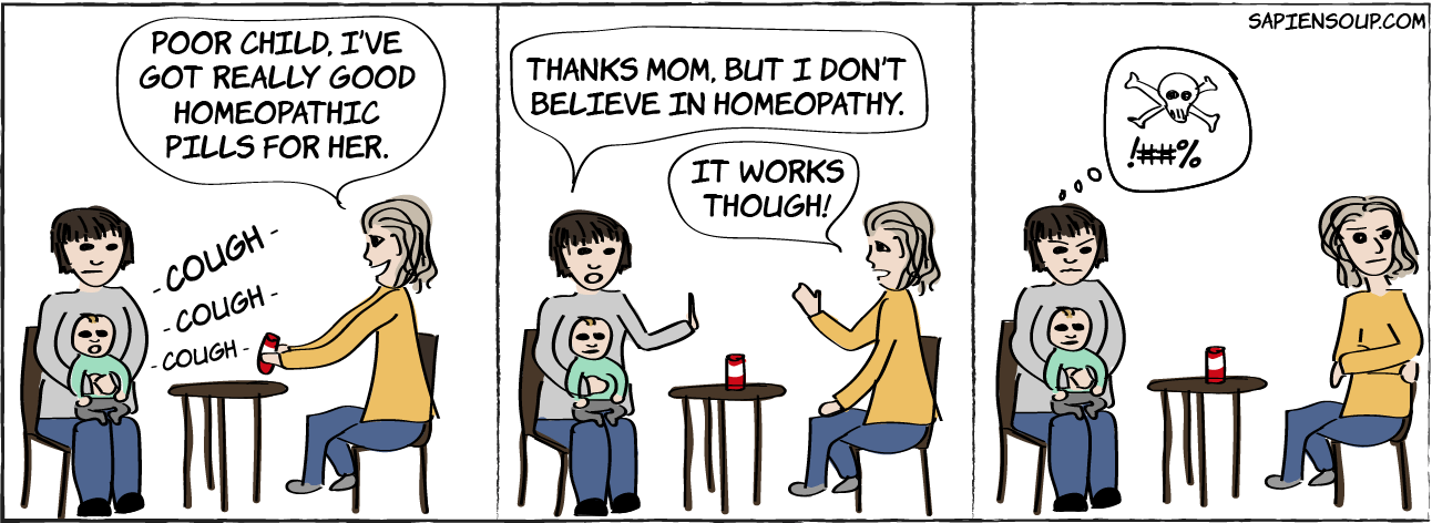 argument if homeopathy works